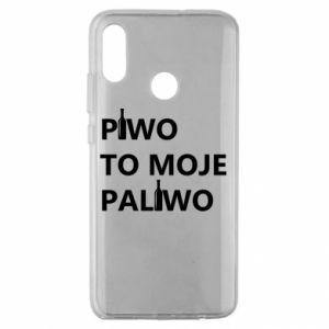 Etui na Huawei Honor 10 Lite Piwo to moje paliwo, z butelkami
