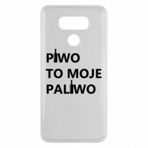 Etui na LG G6 Piwo to moje paliwo, z butelkami