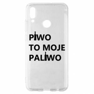 Etui na Huawei P Smart 2019 Piwo to moje paliwo, z butelkami