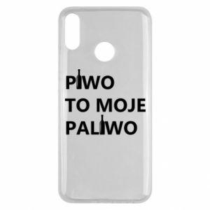 Etui na Huawei Y9 2019 Piwo to moje paliwo, z butelkami