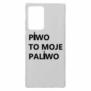 Etui na Samsung Note 20 Ultra Piwo to moje paliwo, z butelkami
