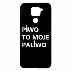 Etui na Xiaomi Redmi Note 9/Redmi 10X Piwo to moje paliwo, z butelkami