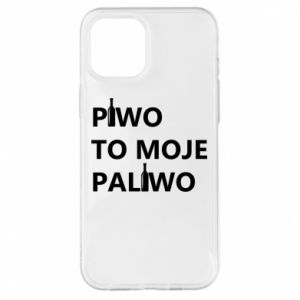 Etui na iPhone 12 Pro Max Piwo to moje paliwo, z butelkami