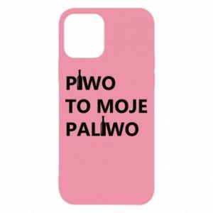 Etui na iPhone 12/12 Pro Piwo to moje paliwo, z butelkami