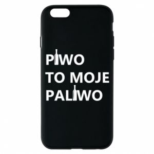 Etui na iPhone 6/6S Piwo to moje paliwo, z butelkami