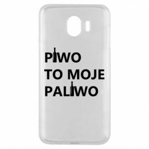 Etui na Samsung J4 Piwo to moje paliwo, z butelkami