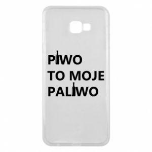 Etui na Samsung J4 Plus 2018 Piwo to moje paliwo, z butelkami