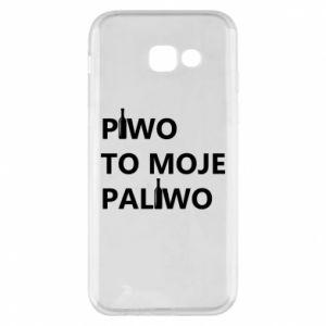 Etui na Samsung A5 2017 Piwo to moje paliwo, z butelkami