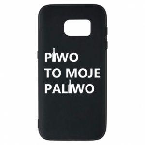 Etui na Samsung S7 Piwo to moje paliwo, z butelkami