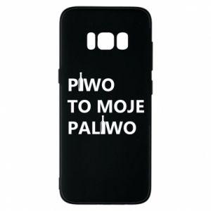 Etui na Samsung S8 Piwo to moje paliwo, z butelkami