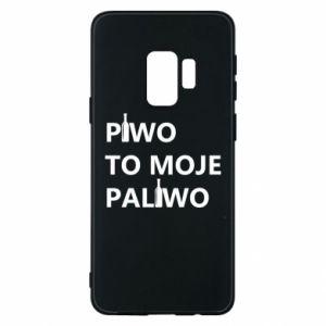 Etui na Samsung S9 Piwo to moje paliwo, z butelkami