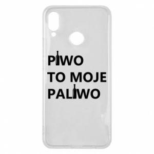 Etui na Huawei P Smart Plus Piwo to moje paliwo, z butelkami