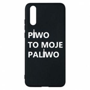 Etui na Huawei P20 Piwo to moje paliwo, z butelkami
