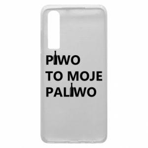 Etui na Huawei P30 Piwo to moje paliwo, z butelkami