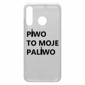 Etui na Huawei P30 Lite Piwo to moje paliwo, z butelkami