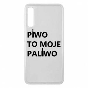 Etui na Samsung A7 2018 Piwo to moje paliwo, z butelkami
