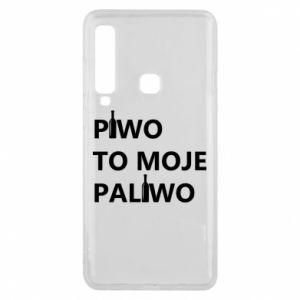 Etui na Samsung A9 2018 Piwo to moje paliwo, z butelkami