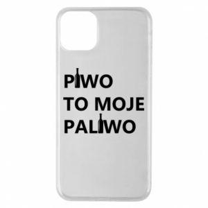 Etui na iPhone 11 Pro Max Piwo to moje paliwo, z butelkami