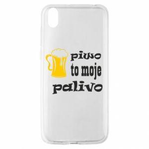 Etui na Huawei Y5 2019 Piwo to moje paliwo