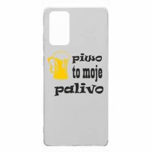Etui na Samsung Note 20 Piwo to moje paliwo