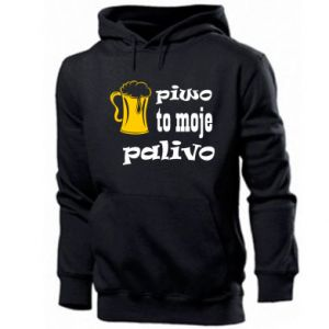 Men's hoodie Beer is my fuel - PrintSalon