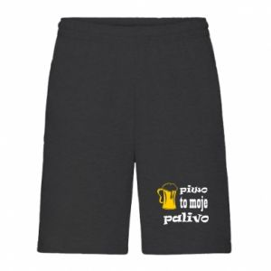 Men's shorts Beer is my fuel - PrintSalon