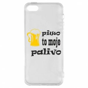 Phone case for iPhone 5/5S/SE Beer is my fuel - PrintSalon