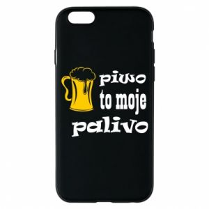 Phone case for iPhone 6/6S Beer is my fuel - PrintSalon