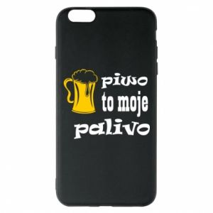 Phone case for iPhone 6 Plus/6S Plus Beer is my fuel - PrintSalon