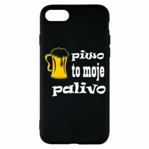 Phone case for iPhone 8 Beer is my fuel - PrintSalon