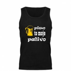 Men's t-shirt Beer is my fuel - PrintSalon