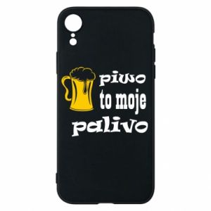 Phone case for iPhone XR Beer is my fuel - PrintSalon