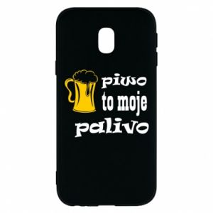 Phone case for Samsung J3 2017 Beer is my fuel - PrintSalon
