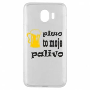 Phone case for Samsung J4 Beer is my fuel - PrintSalon