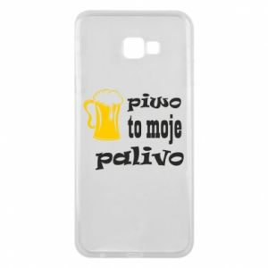 Phone case for Samsung J4 Plus 2018 Beer is my fuel - PrintSalon
