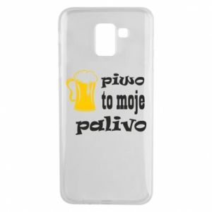 Phone case for Samsung J6 Beer is my fuel - PrintSalon