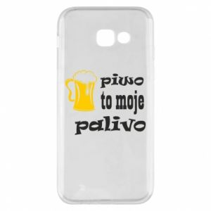 Phone case for Samsung A5 2017 Beer is my fuel - PrintSalon