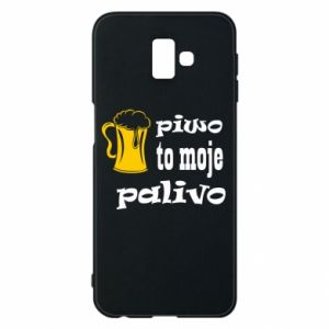 Phone case for Samsung J6 Plus 2018 Beer is my fuel - PrintSalon