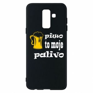 Phone case for Samsung A6+ 2018 Beer is my fuel - PrintSalon