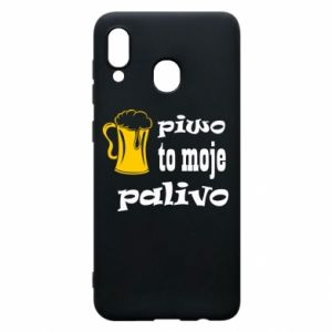 Phone case for Samsung A20 Beer is my fuel - PrintSalon