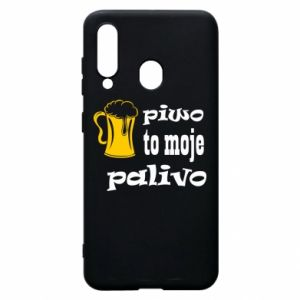 Phone case for Samsung A60 Beer is my fuel - PrintSalon