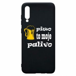 Phone case for Samsung A70 Beer is my fuel - PrintSalon
