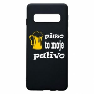 Phone case for Samsung S10 Beer is my fuel - PrintSalon