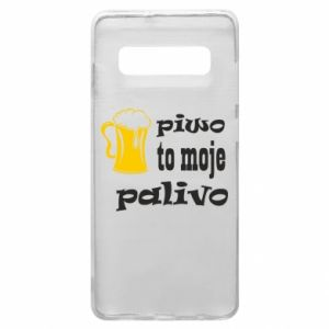Phone case for Samsung S10+ Beer is my fuel - PrintSalon