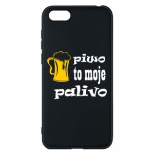 Phone case for Huawei Y5 2018 Beer is my fuel - PrintSalon