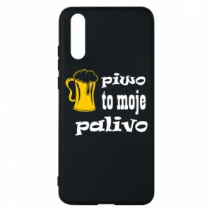 Phone case for Huawei P20 Beer is my fuel - PrintSalon