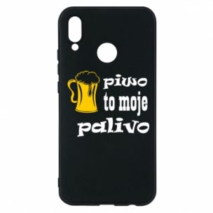 Phone case for Huawei P20 Lite Beer is my fuel - PrintSalon