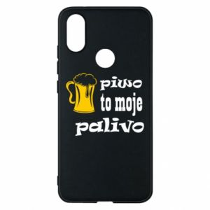 Phone case for Xiaomi Mi A2 Beer is my fuel - PrintSalon