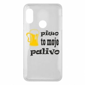 Phone case for Mi A2 Lite Beer is my fuel - PrintSalon