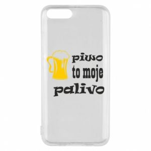 Phone case for Xiaomi Mi6 Beer is my fuel - PrintSalon